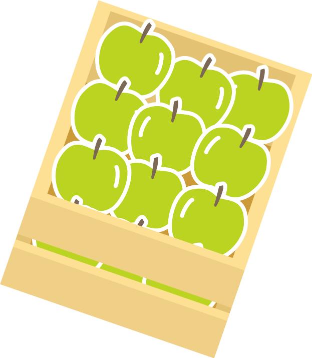 果物をプレゼント